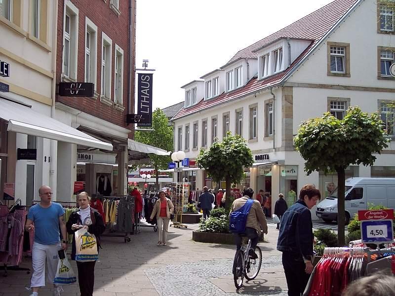 Städtepartnerschaft Ibbenbüren Gourdon Die Stadt
